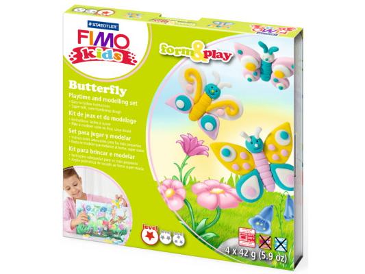 FIMO sada FormxPlay, motýli, 4 x 42 g