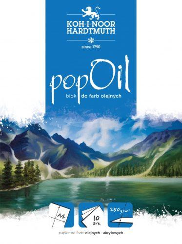 Blok A4  Koh-I-NOOR Pop olej 250 g
