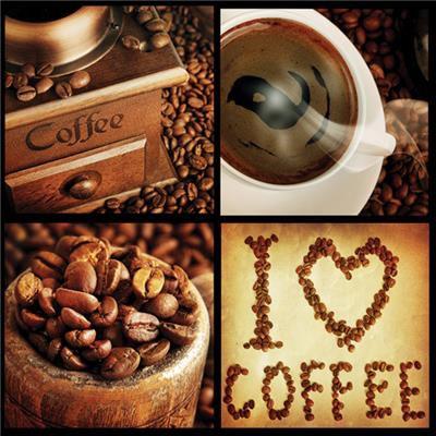 Ubrousky MAKI - káva