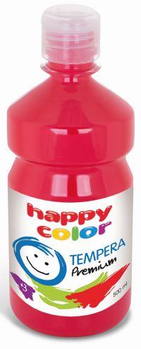 Temperová barva Happy Color 500 ml - světle červená
