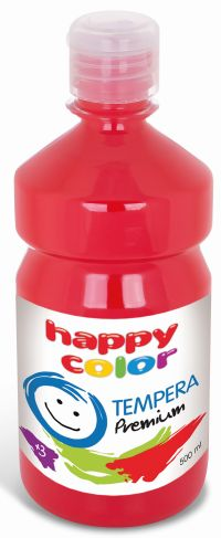 Temperová barva Happy Color 500 ml - tmavě červená