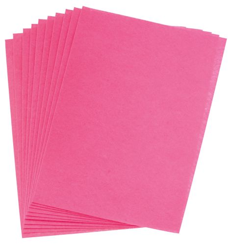 Filc růžový A4 , síla 1 mm - balení 10 kusů