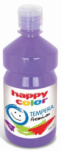 Temperová barva Happy Color 500 ml - světle fialová, levandulová