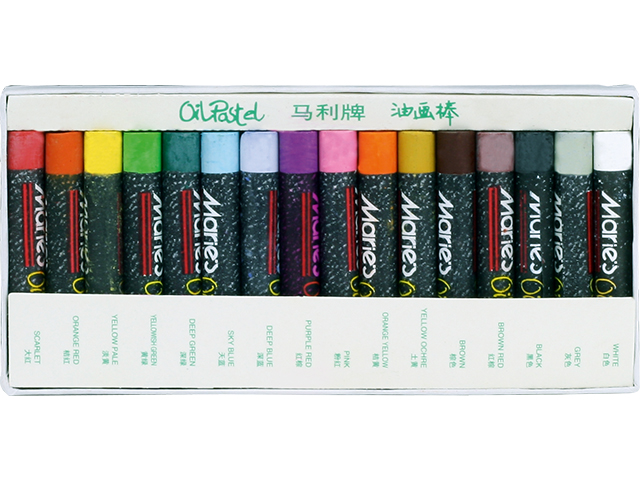 Olejové pastely MARIE'S E1223 - 16 barev