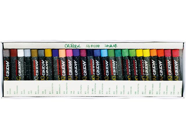 Olejové pastely MARIE'S E1225 - 25 barev