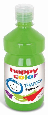 Temperová barva Happy Color 500 ml - světle zelená