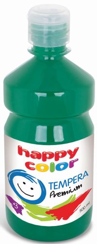 Temperová barva Happy Color 500 ml - tmavě zelená