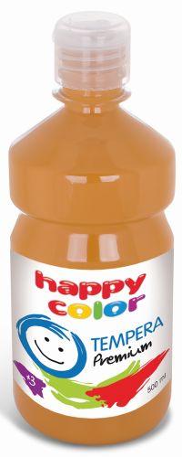 Temperová barva Happy Color 500 ml - hnědá
