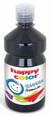 Temperová barva Happy Color 500 ml - černá