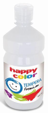 Temperová barva Happy Color 500 ml - bílá