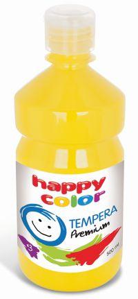 Temperová barva Happy Color 500 ml - žlutá