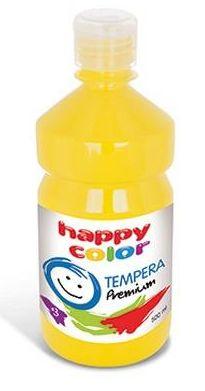 Temperová barva Happy Color 500 ml - žlutá, citrónová
