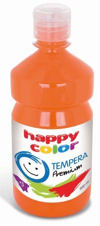 Temperová barva Happy Color 500 ml - oranžová