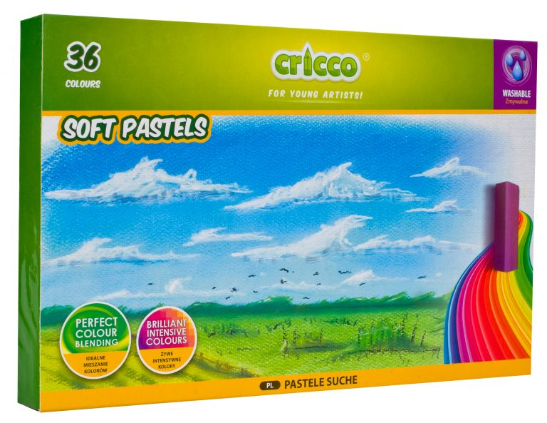 Suché pastely Cricco - 36 barev