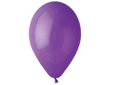 Nafukovací balónky 26cm, 100 kusů - pastelově levandulové