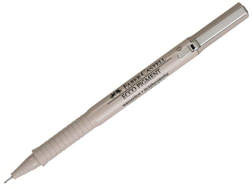 Rollerball pero FABER-CASTELL Ecco - černý 0,2 mm