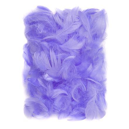 Fialové peří DPCraft 5-12 cm, 10 g