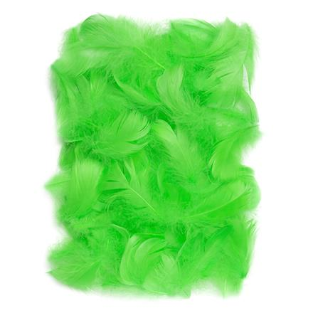 Zelené peří DPCraft 5-12 cm, 10 g