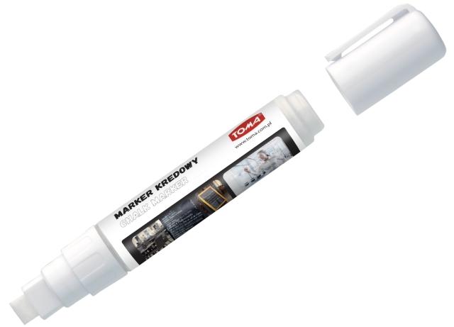 Křídový Fix TOMA, 8 g - bílý, rovný hrot