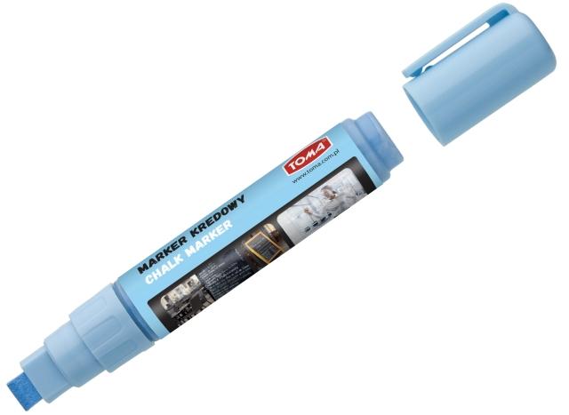Křídový Fix TOMA, 8 g - modrý, rovný hrot