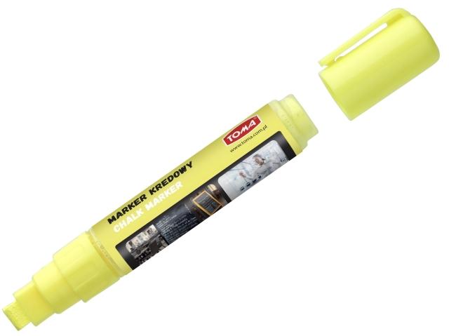 Křídový Fix TOMA, 8 g - žlutý, rovný hrot
