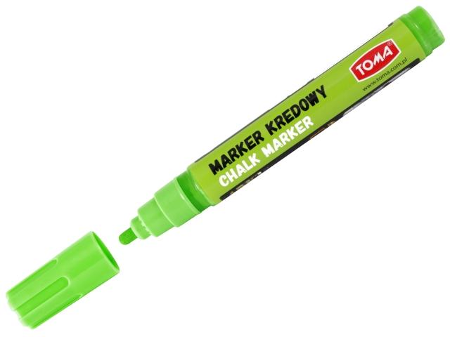 Křídový Fix TOMA, 8 g - zelený, kulatý hrot