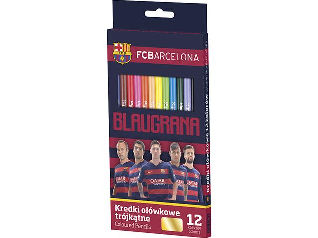 Pastelky FC Barcelona Astra - 12 barev