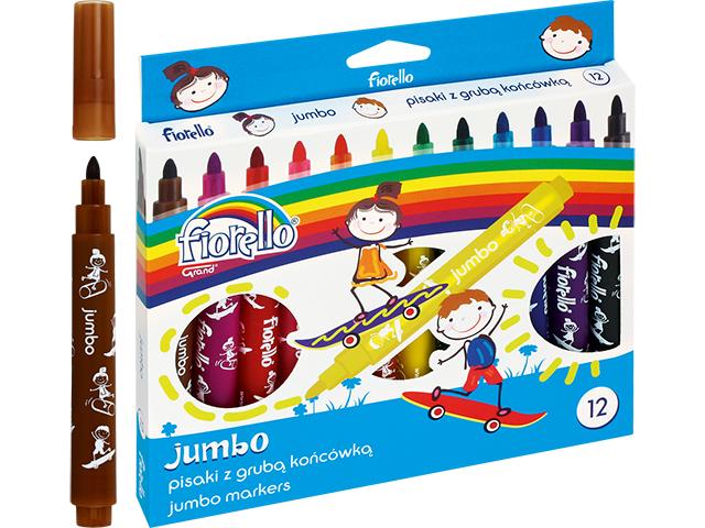 Fixy Jumbo Fiorello - 12 barev