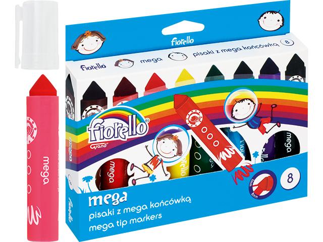 Fixy Mega Jumbo Fiorello - 8 barev