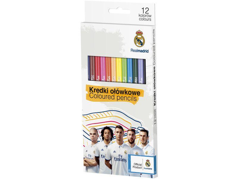 Pastelky Real Madrid - 12 barev