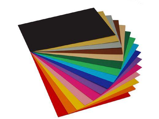 Výkres B2 oboustranný, 270g/m2, balení 20 kusů mix barev