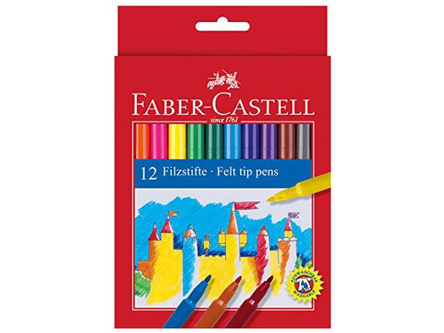 Fixy Faber Castell - sada 12-ti kusů