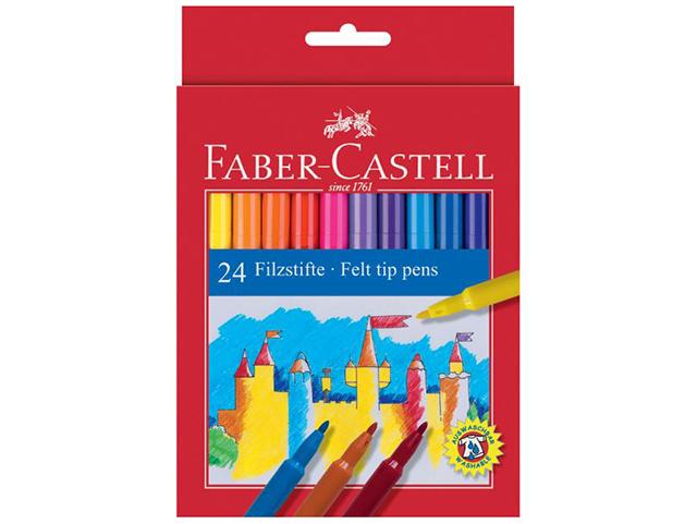 Fixy Faber Castell - sada 24-ti kusů