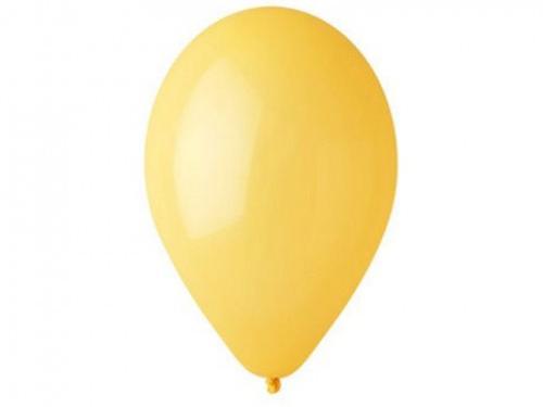 Nafukovací balónky 26cm, 100 kusů - tmavě žluté