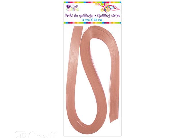Papírové proužky na quilling 100ks růžové perleťové š. 3 mm
