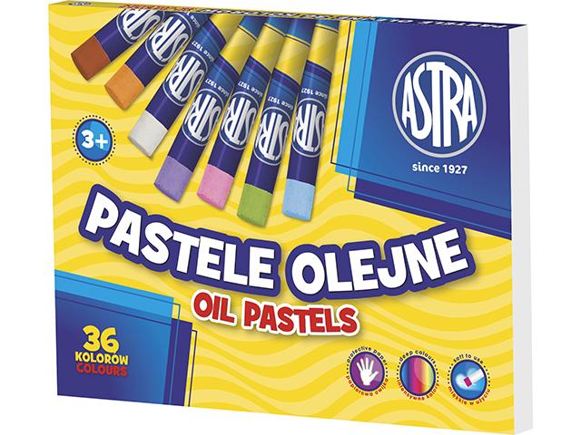 Olejové pastely ASTRA - 36 barev