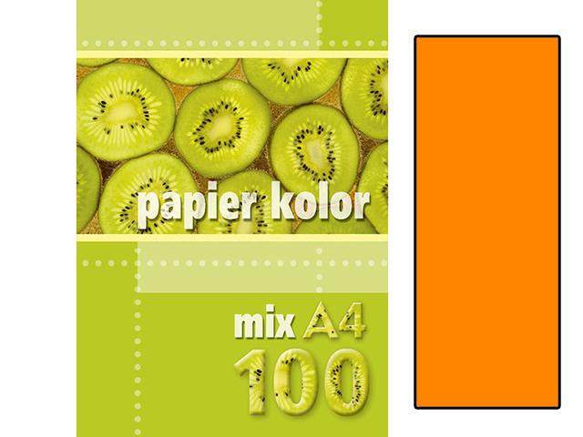 Xerox papír A4 oranžový , 100 kusů