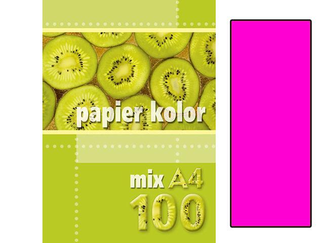 Xerox papír A4 růžový NEON, 100 kusů