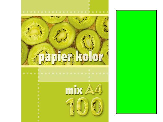 Xerox papír A4 zelený NEON, 100 kusů