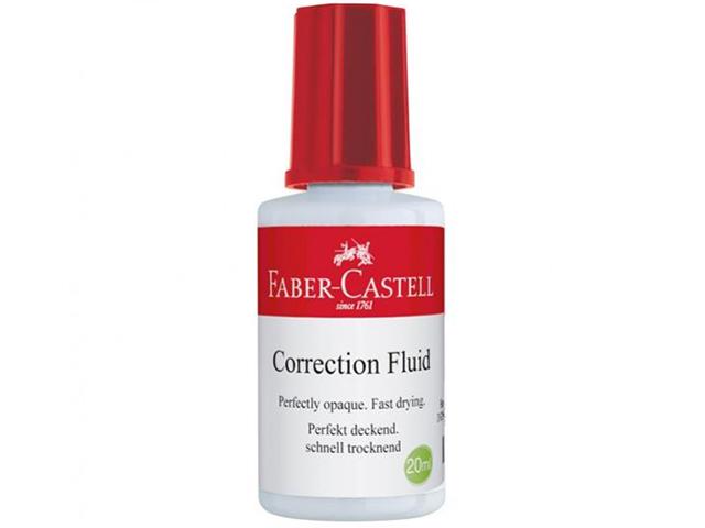 Korektor, opravný lak FABER-CASTELL 20 ml