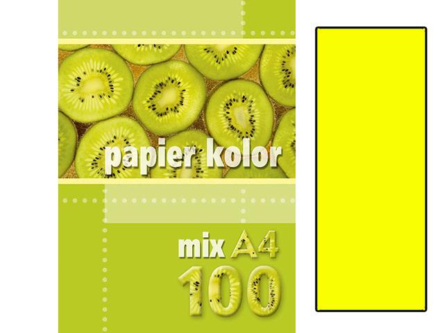 Xerox papír A4 žlutý NEON, 100 kusů