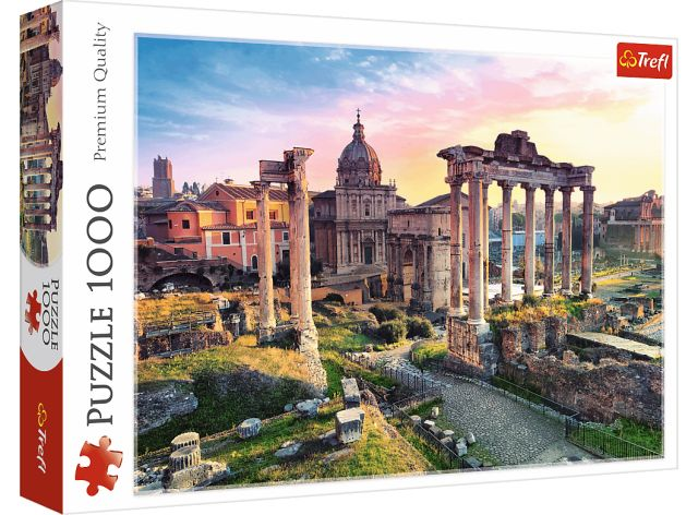 Puzzle 1000 dílků - Forum v Římě