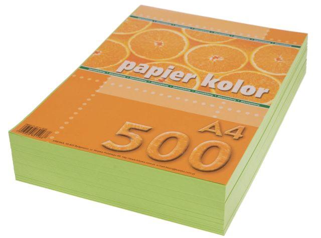 Papír A4 světle zelený, 80g, 500 kusů