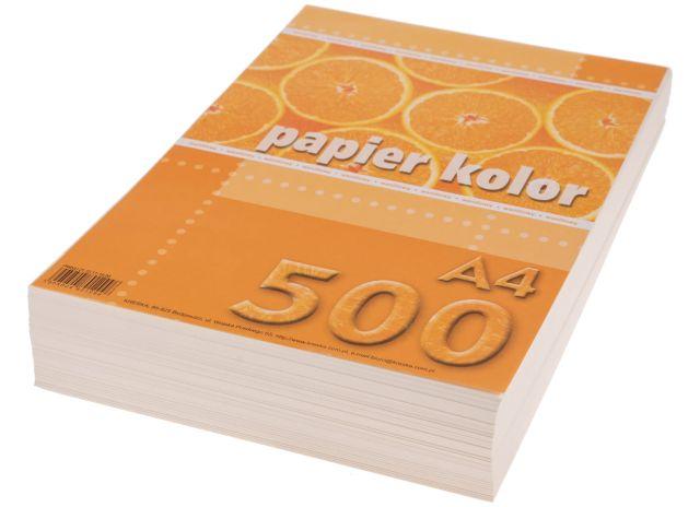 Papír A4 vanilkový, 80g, 500 kusů