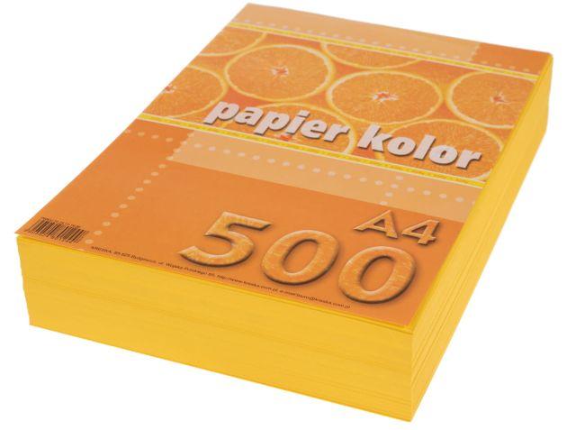 Papír A4 žlutý, 80g, 500 kusů
