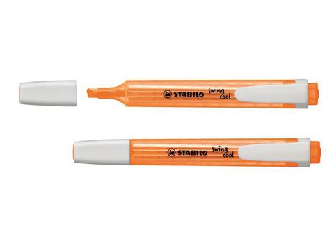 Zvýrazňovač STABILO Swing Cool - oranžový