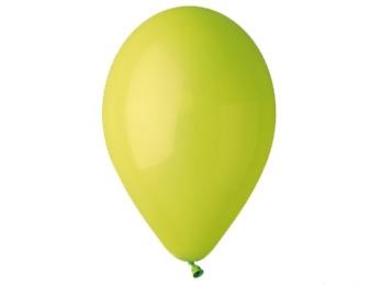 Nafukovací balónky 26cm, 100 kusů - zelené pistáciové