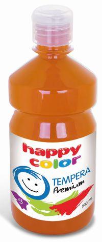 Temperová barva Happy Color 500 ml - tmavě oranžová