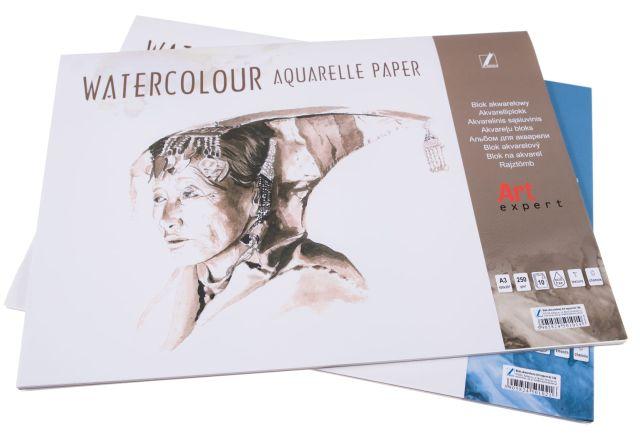 Akvarelový blok výkresů A3, 250g - 10 listů