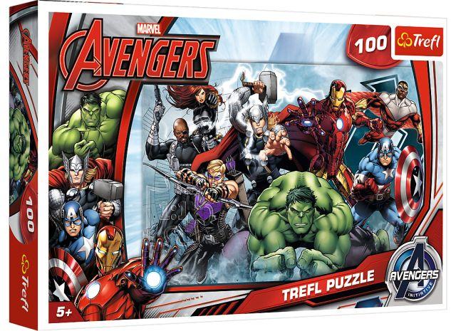 Puzzle Disney, 100 dílků, Avengers